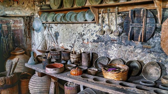 historická kuchyně