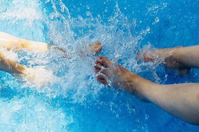 kopání pod vodou