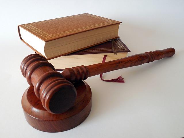 zákony a kladivo