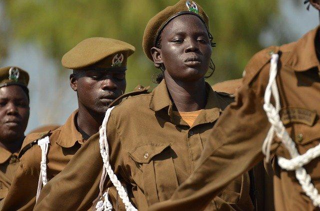 vojáci Afriky